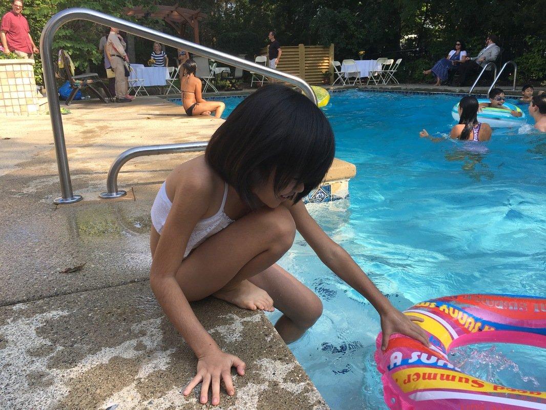 Yui Pool Party 917