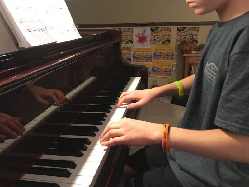using music